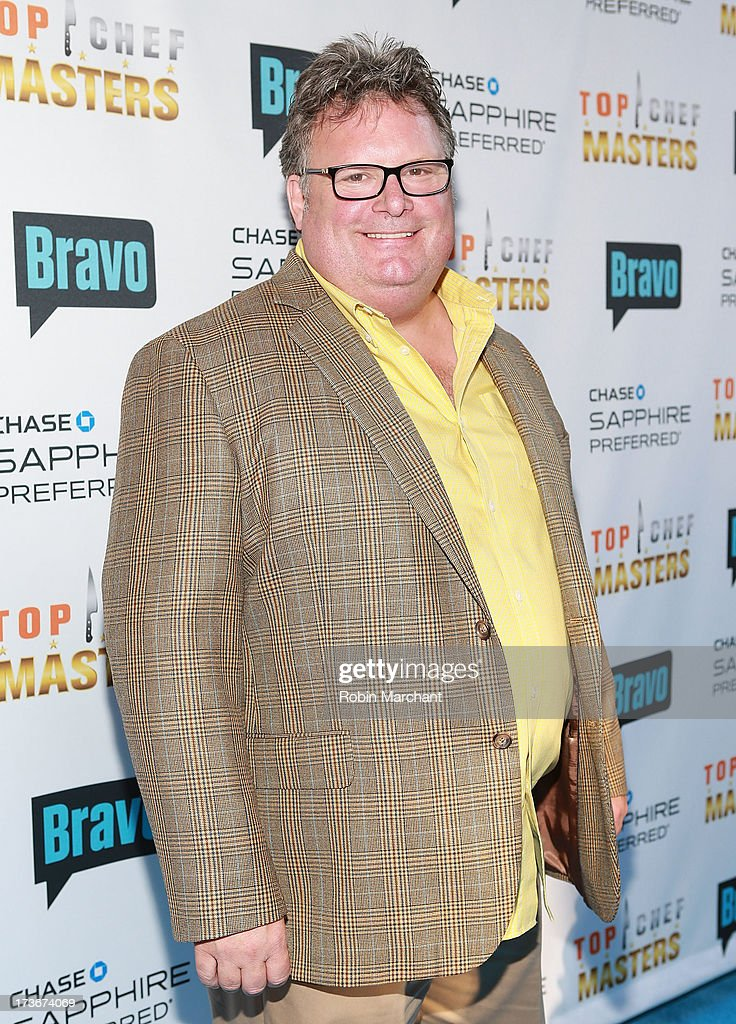 David Burke attends Bravo's 'Top Chef Masters' Season 5 Premiere Celebration at 82 Mercer on July 16, 2013 in New York City.