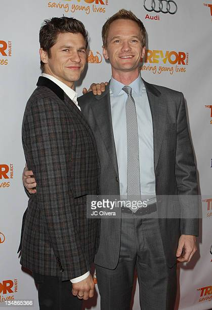 David Burtka and Actor Neil Patrick Harris attends 'Trevor Live at The Hollywood Palladium' held at the Hollywood Palladium on December 4 2011 in Los...
