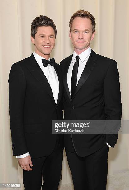 David Burtka and Neil Patrick Harris arrive at the 20th Annual Elton John AIDS Foundation Academy Awards Viewing Party at The City of West Hollywood...