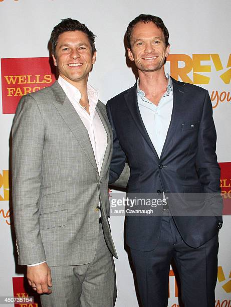 David Burtka and Neil Patrick Harris attend 2014 'TrevorLIVE NY' Benefit at Marriott Marquis Hotel on June 16 2014 in New York City