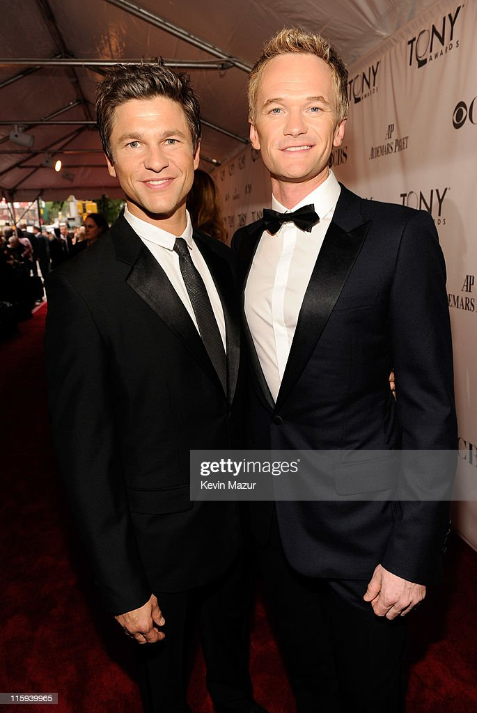David Burtka and Neil Patrick Harris attend the 65th Annual Tony Awards at the Beacon Theatre on June 12 2011 in New York City