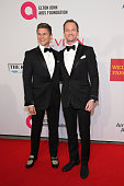 David Burtka and Neil Patrick Harris attend the Elton John AIDS Foundation's 13th Annual An Enduring Vision Benefit at Cipriani Wall Street powered...