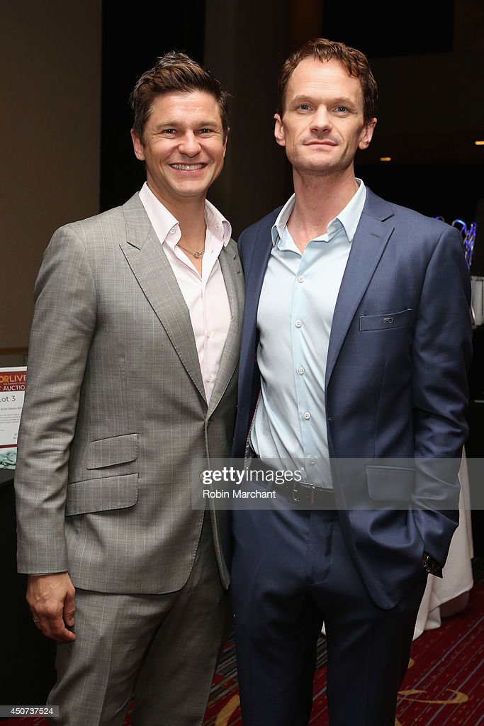 <a gi-track='captionPersonalityLinkClicked' href=/galleries/search?phrase=David+Burtka&family=editorial&specificpeople=572242 ng-click='$event.stopPropagation()'>David Burtka</a> (L) and <a gi-track='captionPersonalityLinkClicked' href=/galleries/search?phrase=Neil+Patrick+Harris&family=editorial&specificpeople=210509 ng-click='$event.stopPropagation()'>Neil Patrick Harris</a> attend the Trevor Project's 2014 'TrevorLIVE NY' Event at the Marriott Marquis Hotel on June 16, 2014 in New York City.