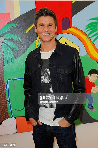 David Burtka attend Barneys New York and Simon Doonan host event in support of 'Hola' Heart of Los Angeles at Barney Greengrass at Barney's Beverly...