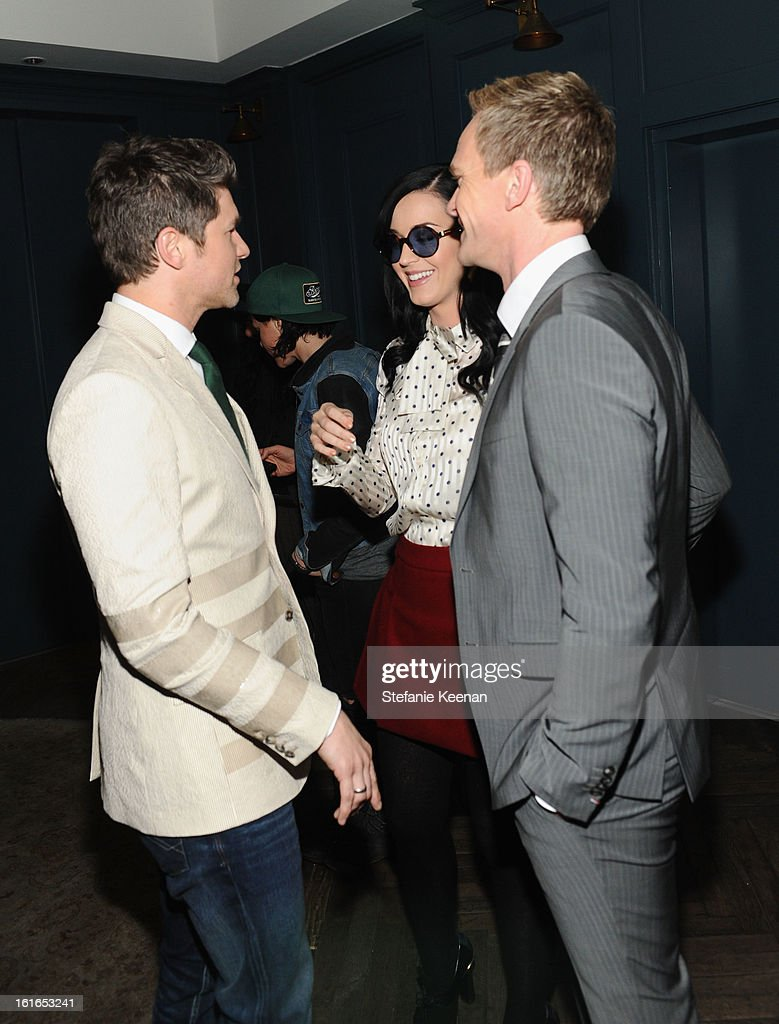 David Burtka, singer Katy Perry and actor Neil Patrick Harris, attend Tommy Hilfiger New West Coast Flagship Opening After Party at a Private Club on February 13, 2013 in West Hollywood, California.