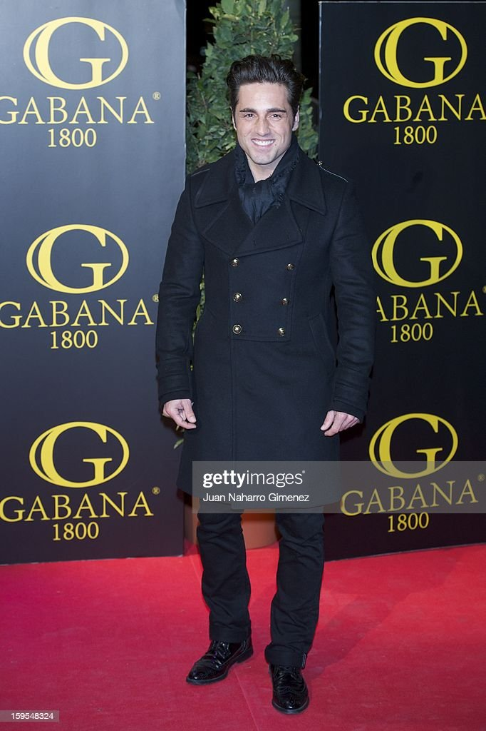 David Bustamante attends David Bustamante's dinner with friends at Gabana 1800 on January 15, 2013 in Madrid, Spain.