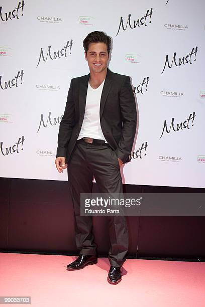 David Bustamante attends Must magazine awards at Telefonica flagship store on May 11 2010 in Madrid Spain
