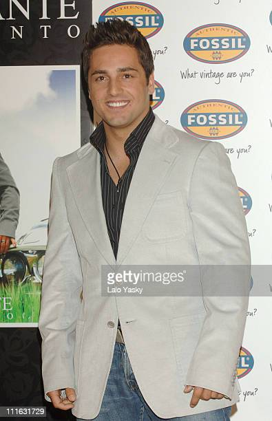 David Bustamante during Launches His New Album 'Pentimento' During a Press Conference in Spain June 13 2006 at Hesperia Hotel in Madrid Spain