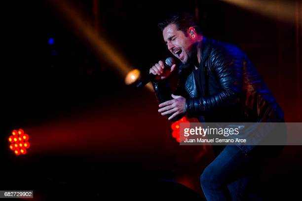 David Bustamante performs in concert at the Palacio Festivales on May 13 2017 in Santander Spain