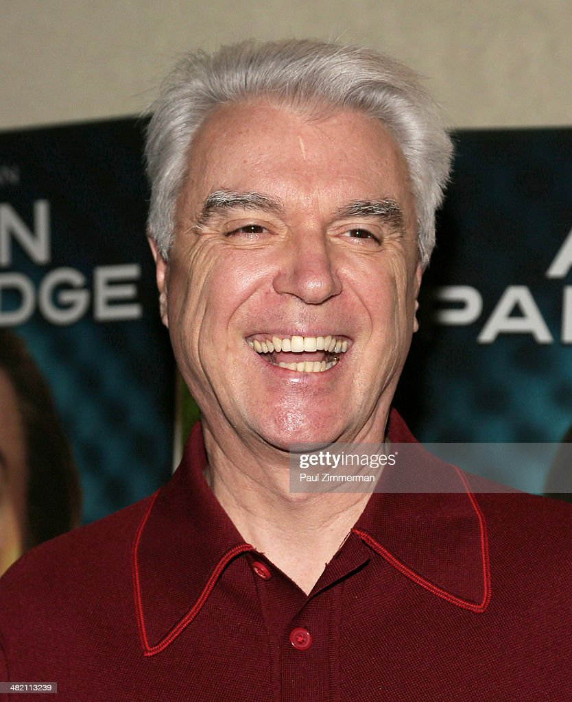 <a gi-track='captionPersonalityLinkClicked' href=/galleries/search?phrase=David+Byrne&family=editorial&specificpeople=210852 ng-click='$event.stopPropagation()'>David Byrne</a> attends the 'Alan Partridge' New York screening at Landmark's Sunshine Cinema on April 2, 2014 in New York City.