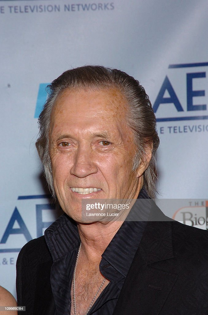 David Carradine during 2005/2006 A&E Television Networks UpFront at ...