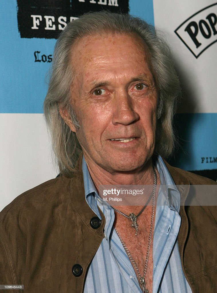 David Carradine during 2007 Los Angeles Film Festival - 'How To Rob a ...