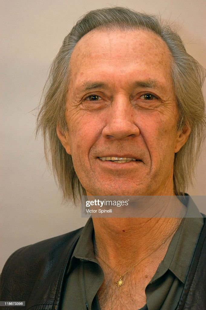 David Carradine during Carradine Brothers Private Portraits at Studio ...