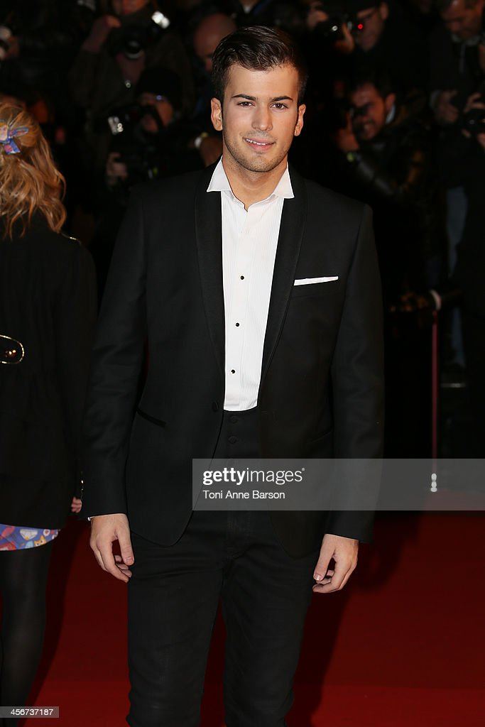 David Carreira arrives at the 15th NRJ Music Awards at the Palais des Festivals on December 14, 2013 in Cannes, France.