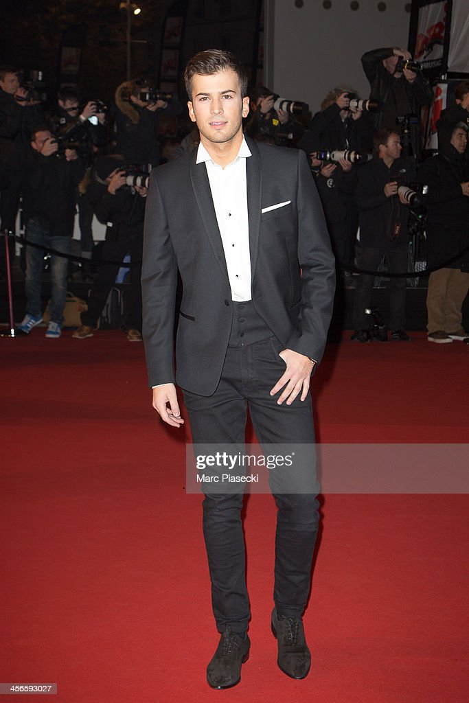 David Carreira attends the 15th NRJ Music Awards at Palais des Festivals on December 14, 2013 in Cannes, France.