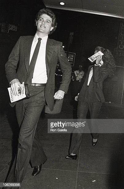 David Cassidy and Brooke Shields during 'Nine' Performance July 12 1982 at 46th Street Theater in New York City New York United States