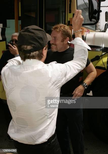 David Cassidy and Danny Bonaduce during MTV Networks TCA July 23 2004 at Century Plaza in Century Plaza California United States