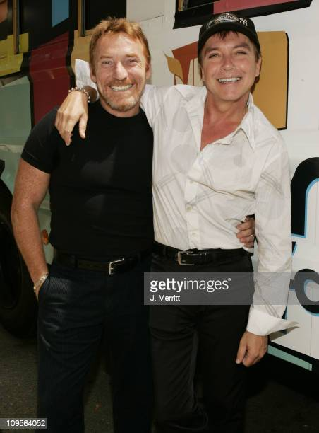 David Cassidy and Danny Bonaduce during MTV Networks TCA July 23 2004 at Century Plaza in Century Plaza California United States
