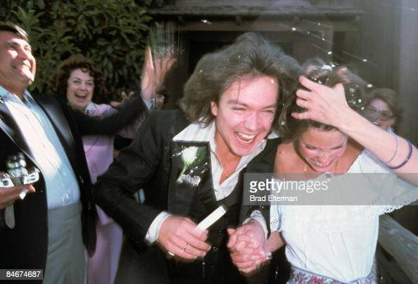 David Cassidy And Kay Lenz At Their Wedding At The Little Church Of Filmmagic 84674687