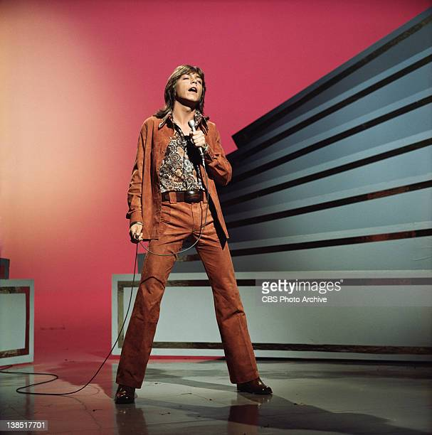 David Cassidy performing on The Glen Campbell Goodtime Hour Image dated October 1 1971