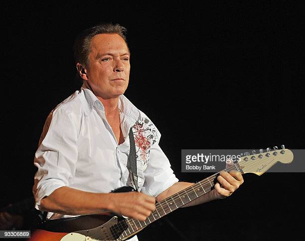 David Cassidy performs at the Queensborough Performing Arts Center in Queens on November 21 2009 in New York City
