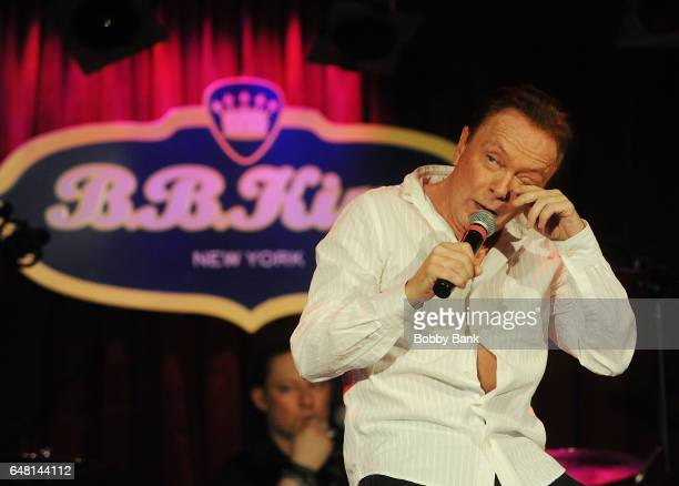 David Cassidy performs his final touring concert at BB King Blues Club Grill on March 4 2017 in New York City