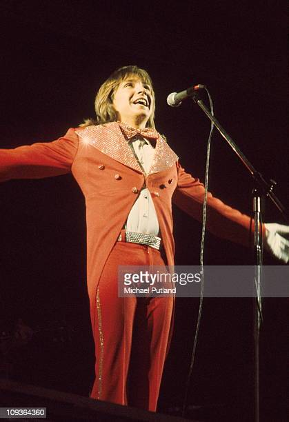 David Cassidy performs on stage Europe October 1973