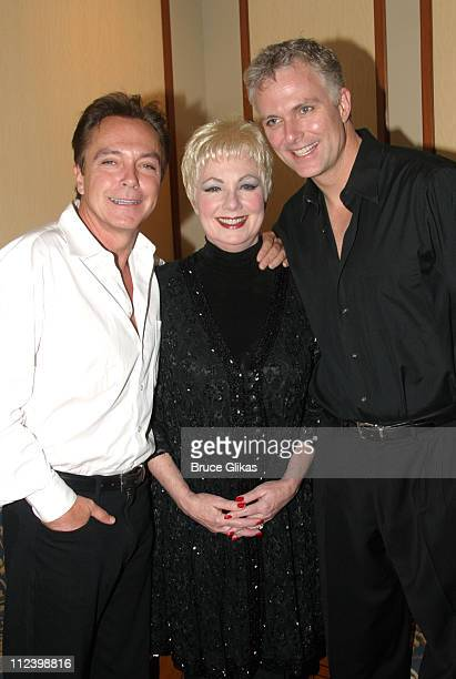 David Cassidy Shirley Jones and Patrick Cassidy during David Cassidy Visits Mother Shirley Jones and Brother Patrick Cassidy Backstage at '42nd...
