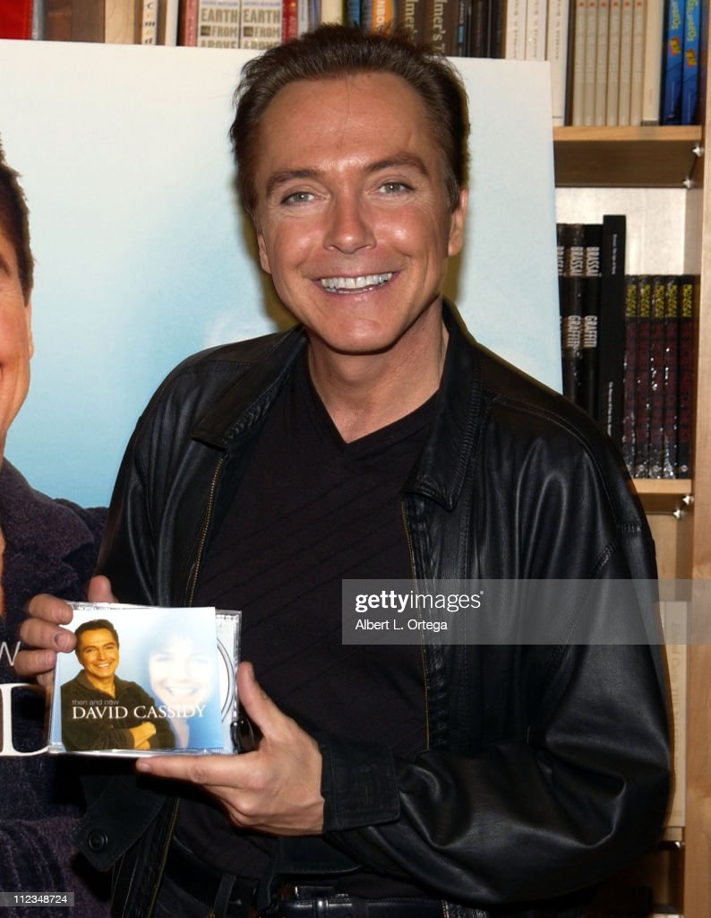 "David Cassidy In-Store Appearance to Promote ""Then And Now"""