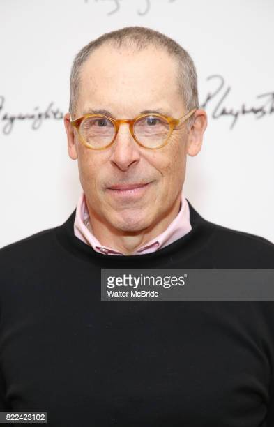 David Chandler attends the meet Greet for Playwrights Horizons New York Premiere pf 'For Peter Pan on her 70th Birthday' on July 25 2017 at the...