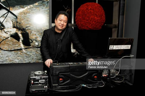 David Chang attends ELSA PERETTI Celebrates 35 Years with TIFFANY Co at Tiffany Co on December 10 2009 in New York City