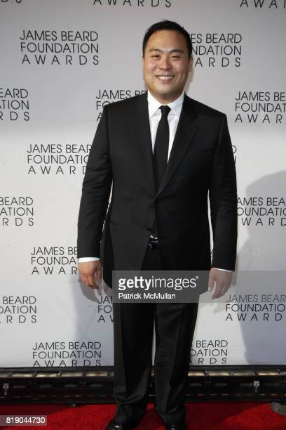 David Chang attends James Beard Foundation Awards 2010 at Lincoln Center on May 3 2010 in New York City