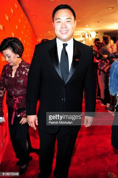 David Chang attends TIME 100 at Frederick P Rose Hall on May 4 2010 in New York City