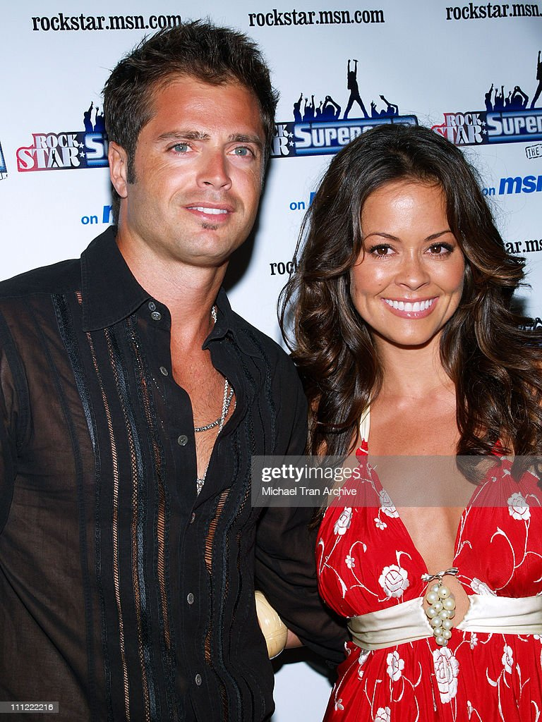 David Charvet and Brooke Burke during 'Rockstar Supernova Season 2' Premiere Party at Roxy Theatre in West Hollywood California United States