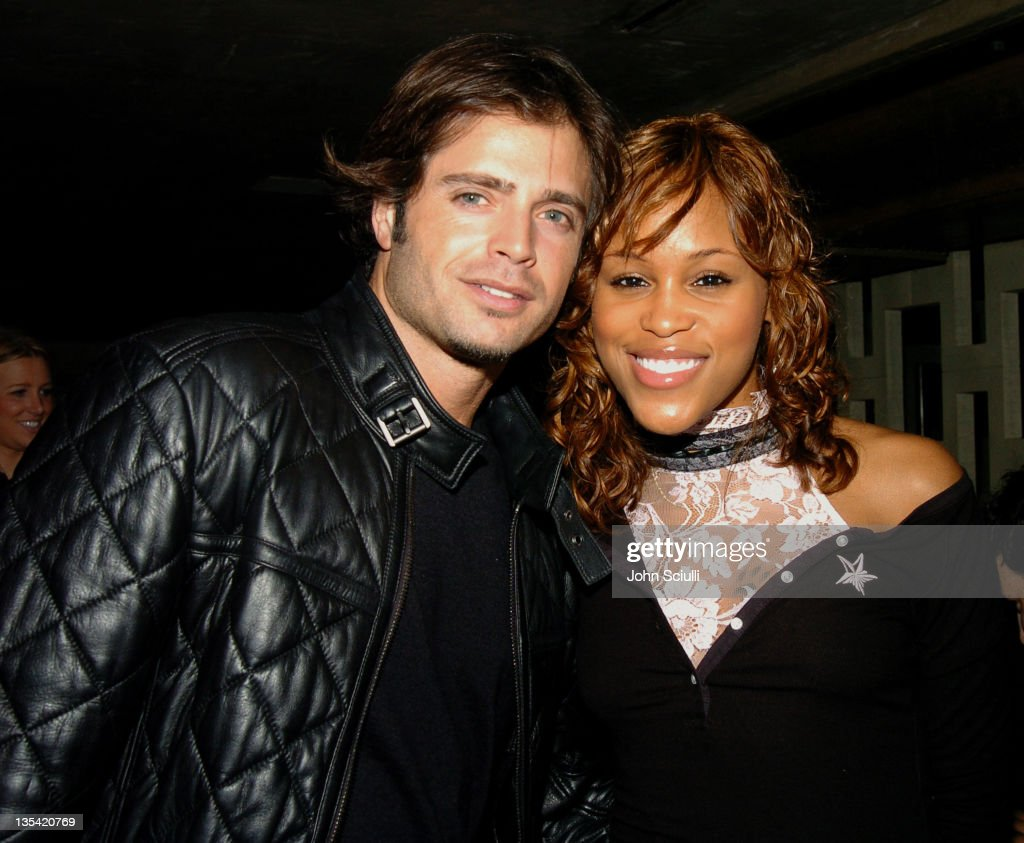 David Charvet and Eve during People's Liberation Launch Party Hosted by Eve Arrivals in Los Angeles California United States