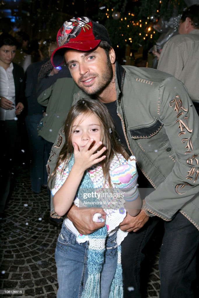 David Charvet and guest during 'Ice Age The Meltdown' to Benefit St Jude Children's Research Hospital at 2 Rodeo Drive in Beverly Hills California...
