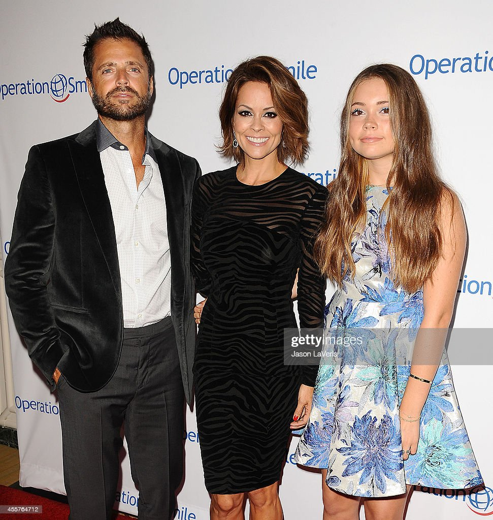 David charvet hairstyles for 2017 celebrity hairstyles by - David Charvet Brooke Burke Charvet And Neriah Fisher Attend The 2014 Operation Smile Gala At