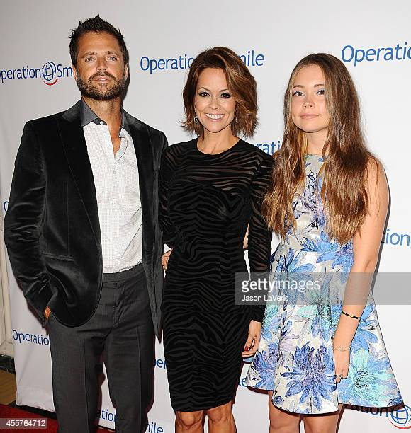 David Charvet Brooke Burke Charvet and Neriah Fisher attend the 2014 Operation Smile gala at the Beverly Wilshire Four Seasons Hotel on September 19...