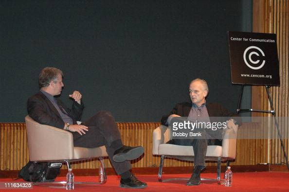 David Chase and David Schwartz during Center for Communication Creating A Hit The Sopranos with David Chase at Center for Comunication in New York...