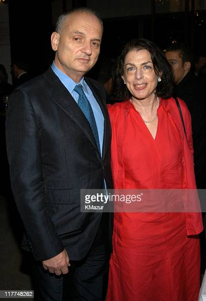 David Chase and Denise Chase during Central Park Conservancy hosts 150th Anniversary of the Park at Mandarin Oriental Hotel in New York City New York...