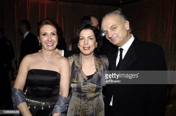 David Chase and guests during HBO Golden Globe Awards Party Inside at Beverly Hills Hilton in Beverly Hills California United States