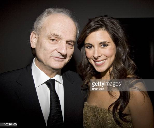 David Chase and JamieLynn Sigler during The 59th Annual Writers Guild of America Awards Ceremony Arrivals and Cocktail Party at Millenium Hotel in...