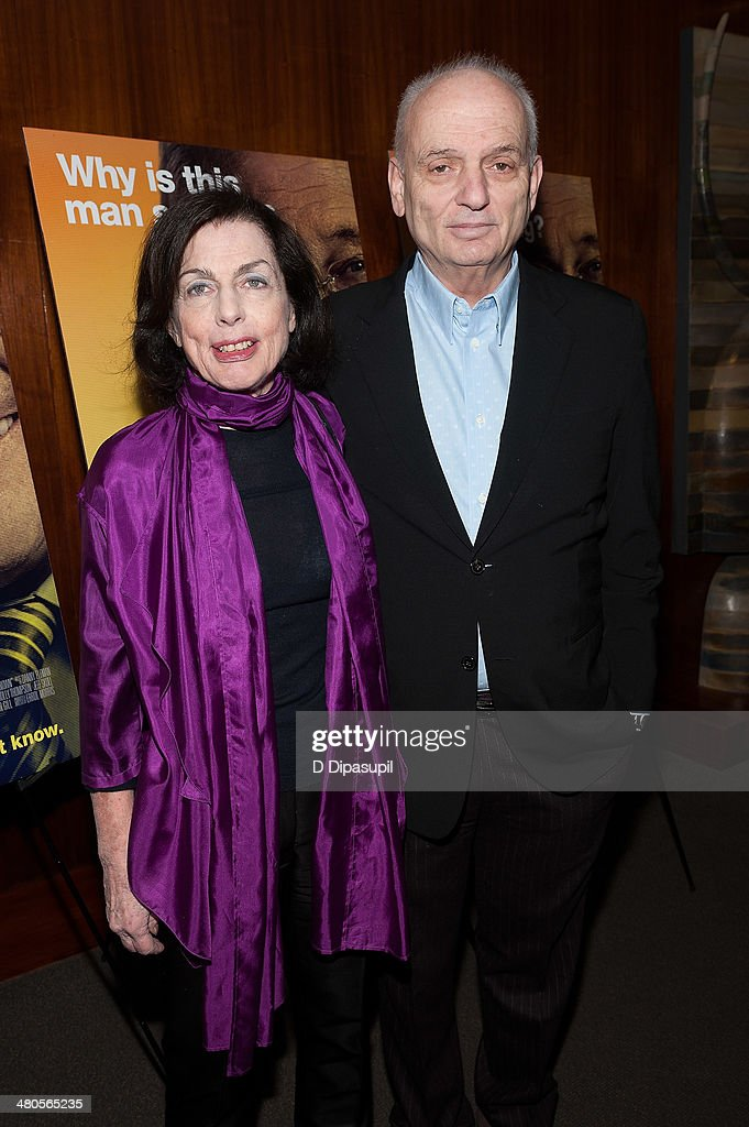 <a gi-track='captionPersonalityLinkClicked' href=/galleries/search?phrase=David+Chase&family=editorial&specificpeople=657831 ng-click='$event.stopPropagation()'>David Chase</a> (R) and wife Denise Kelly Chase attend 'The Unknown Known' screening at the Museum Of Arts And Design on March 25, 2014 in New York City.