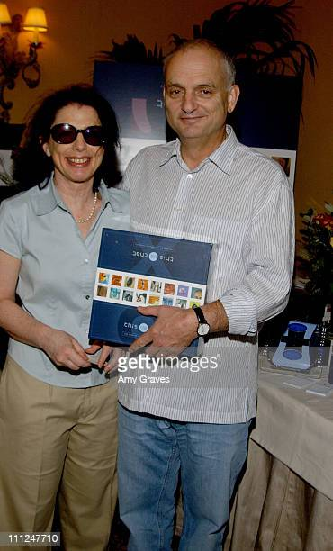 David Chase and wife with This Vs That during HBO 'Luxury Lounge' at the 55th Annual Emmy Awards at The Peninsula Hotel Magnolia Room in Beverly...