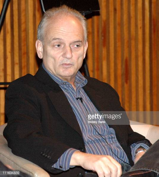 David Chase during Center for Communication Creating A Hit The Sopranos with David Chase at Center for Comunication in New York City New York United...