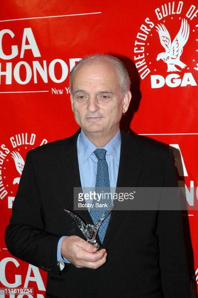 David Chase during Directors Guild of America Honors David Chase Press Room October 12 2006 at DGA Building in New York City New York United States