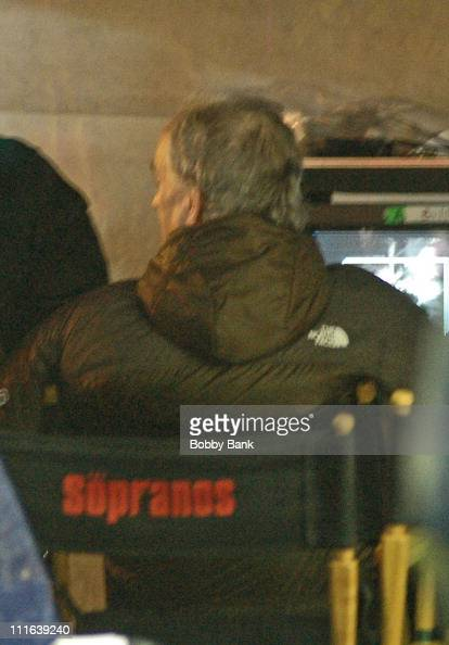 David Chase during Sopranos on Location in New York City's Chinatown in New York City New York United States