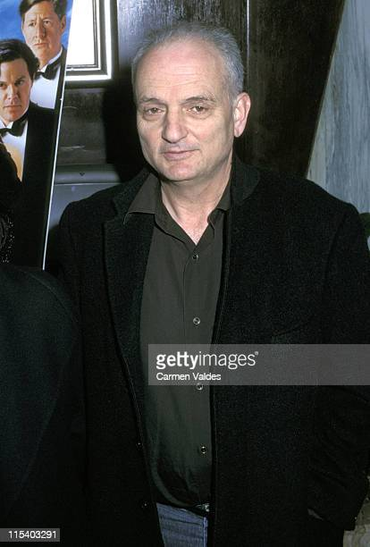 David Chase during 'The Cat's Meow' New York City Premiere at Beekman Theater in New York City New York United States