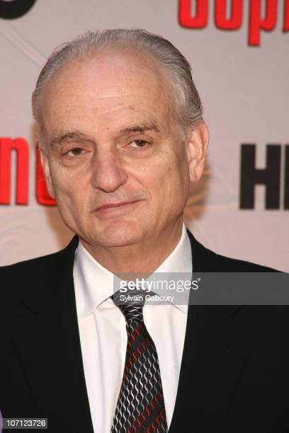 David Chase during 'The Sopranos' Final Season World Premiere Arrivals at Radio City Music Hall in New York City New York United States