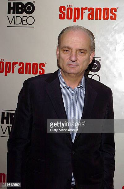 David Chase series creator during 'The Sopranos The Complete 5th Season' DVD Release Party Hosted by HBO Video at English is Italian in New York City...